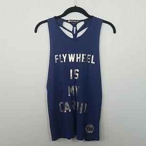 FLYWHEEL is my Cardio Braided Tank